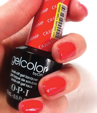 Be ready for the other cats to bring out their claws as you flaunt the latest trend in haute nails – gel nail polish
